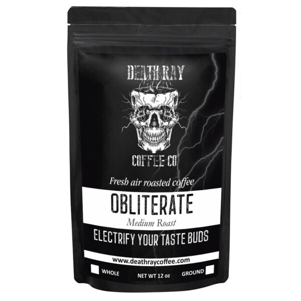 Bag Of Obliterate Coffee Blend