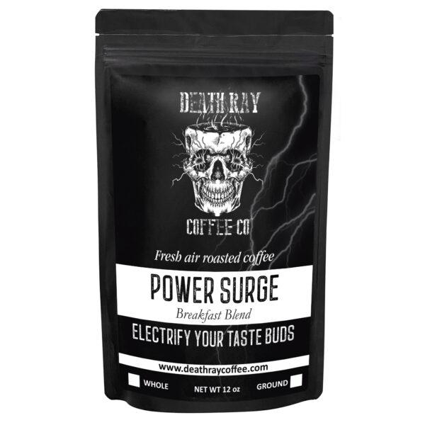 Bag Of Power Surge Coffee Blend